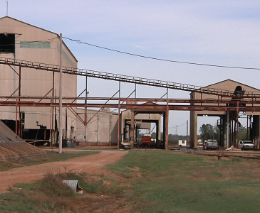 Warehouse and Conveyor